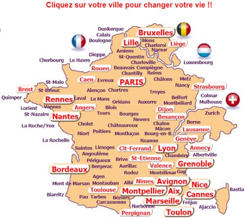 Réaliser des sorties en France
